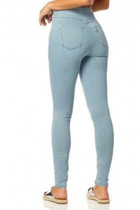 calca skinny hot pants reducao dz2311 costas proximo denim zero