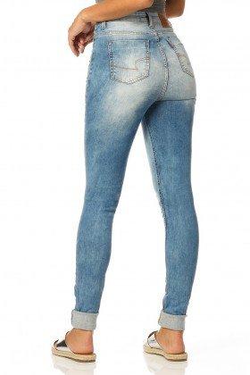 calca skinny hot pants sky dz2321 denim zero costas proximo