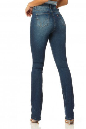 calca boot cut hot pants stone dz2330 denim zero costas proximo