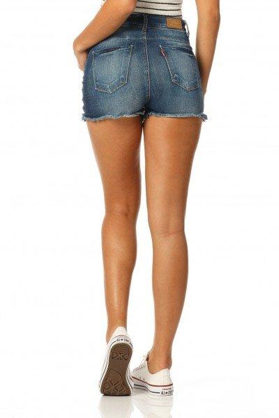 shorts pin up stone dz6148 costas proximo denim zero