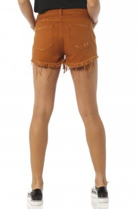 shorts feminino young whisky dz6186 costas proximo denim zero