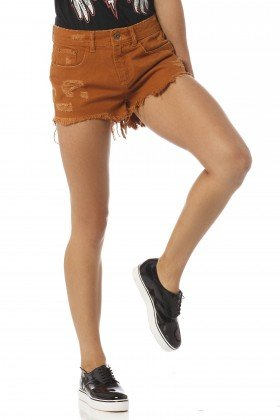 shorts feminino young whisky dz6186 frente proximo denim zero