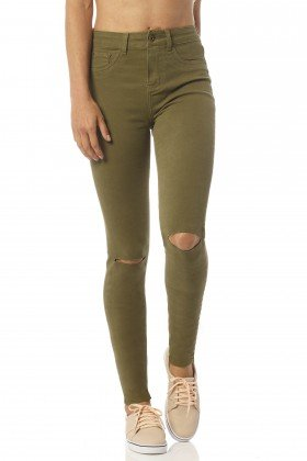 calca color skinny media cacto rasgos dz2392 frente proxima denim zero