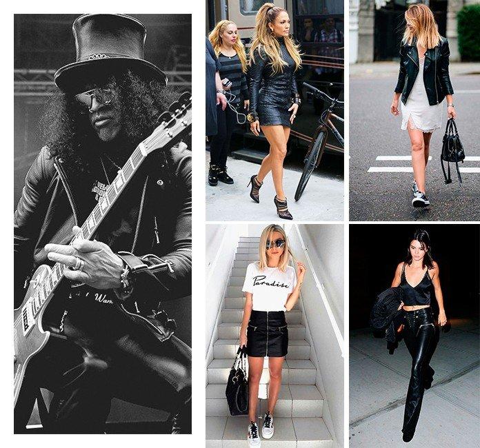 33 influencia do rock na moda atual couro