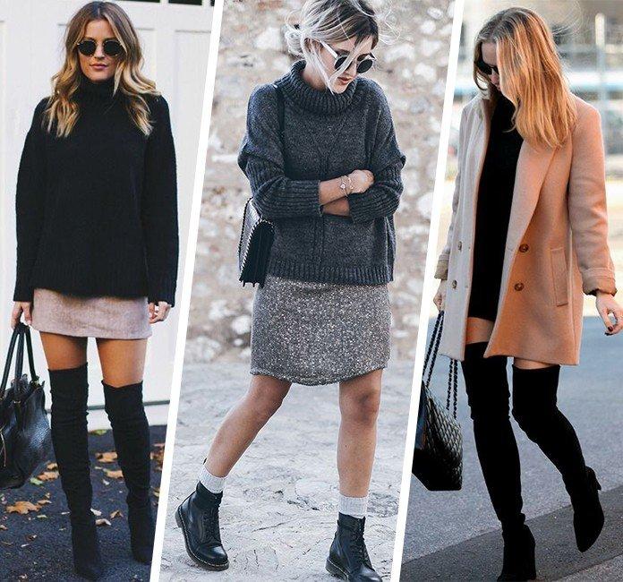 35 como usar vestido no inverno sobreposicao