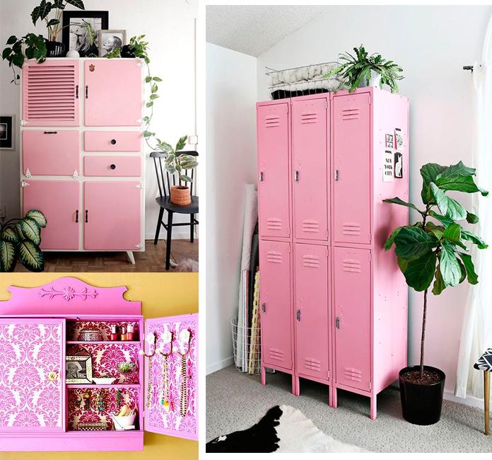 46 decorac oes rosa armario1