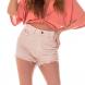 dz6215 11 natural shorts setentinha colors denim zero frente cortada