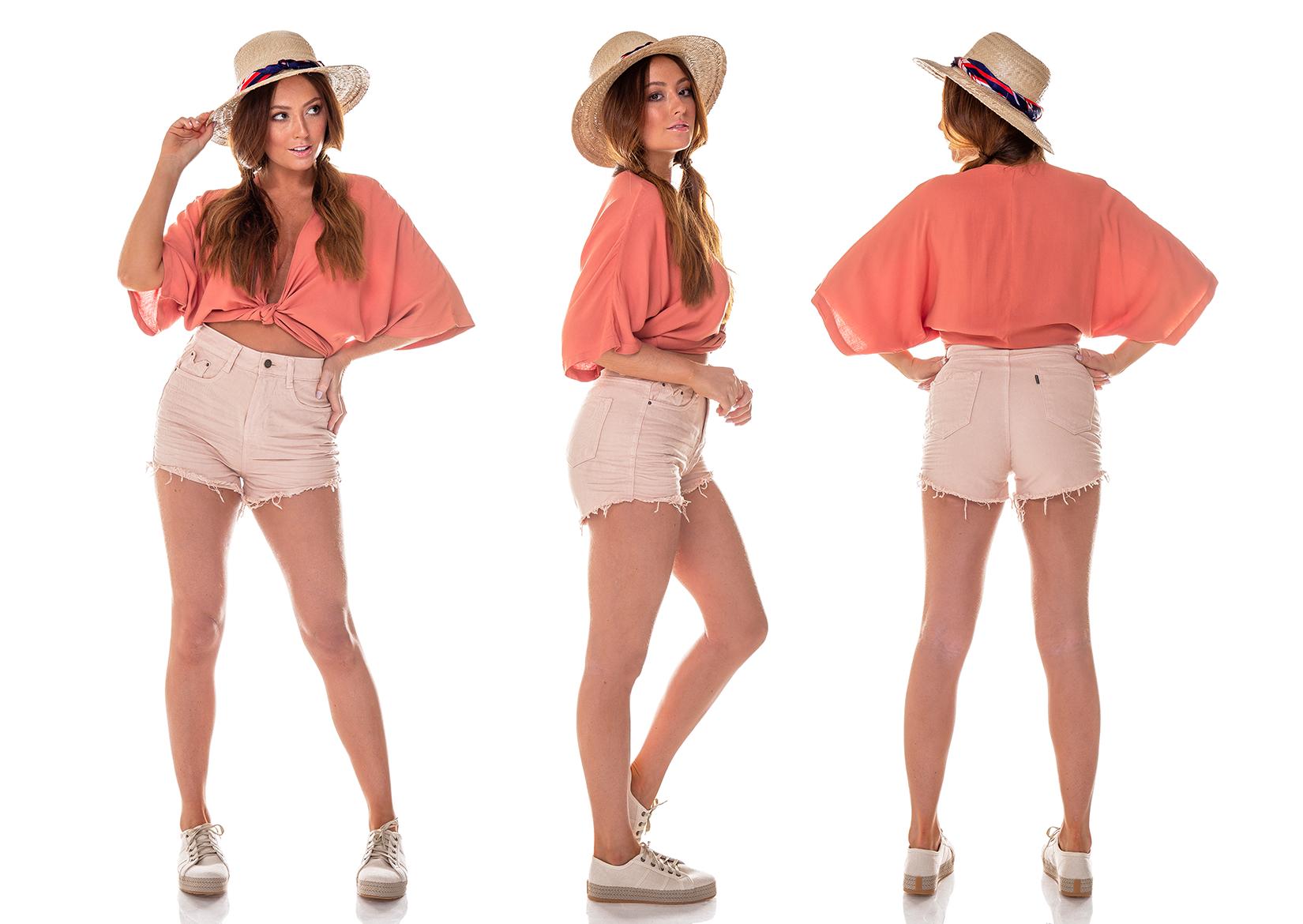 dz6215 11 natural shorts setentinha colors denim zero tripla