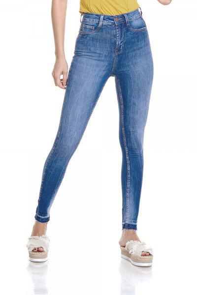 dz2789 calca skinny hot pants cigarrete zoom frente