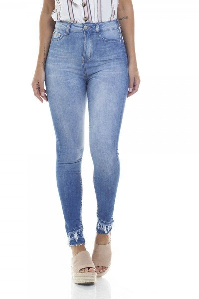 dz2805 calca skinny hot pants cigarrete zoom frente