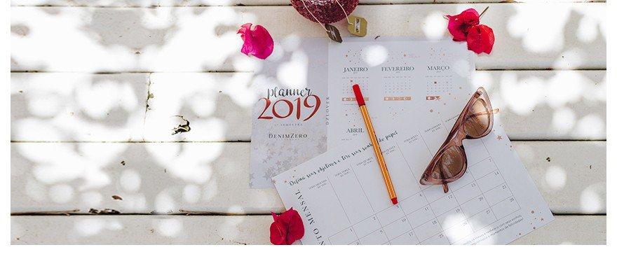 PLANNER DENIM ZERO: conquiste todas as suas metas para 2019  (download gratuito)