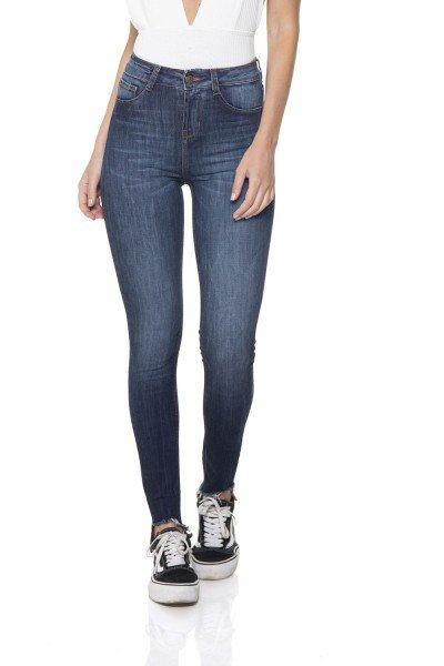 dz2836 calca jeans skinny media com bigodes denim zero frente prox
