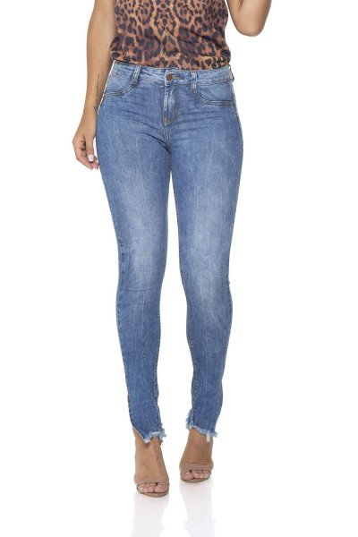 dz2852 calca jeans skinny media com fenda denim zero frente prox