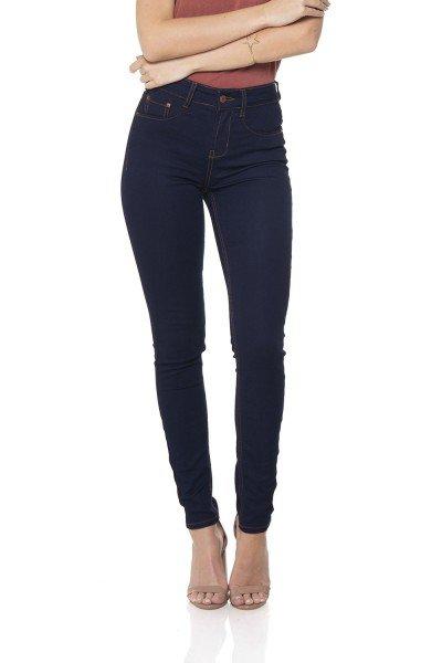 dz2558 12 calca jeans skinny media escura denim zero frente prox