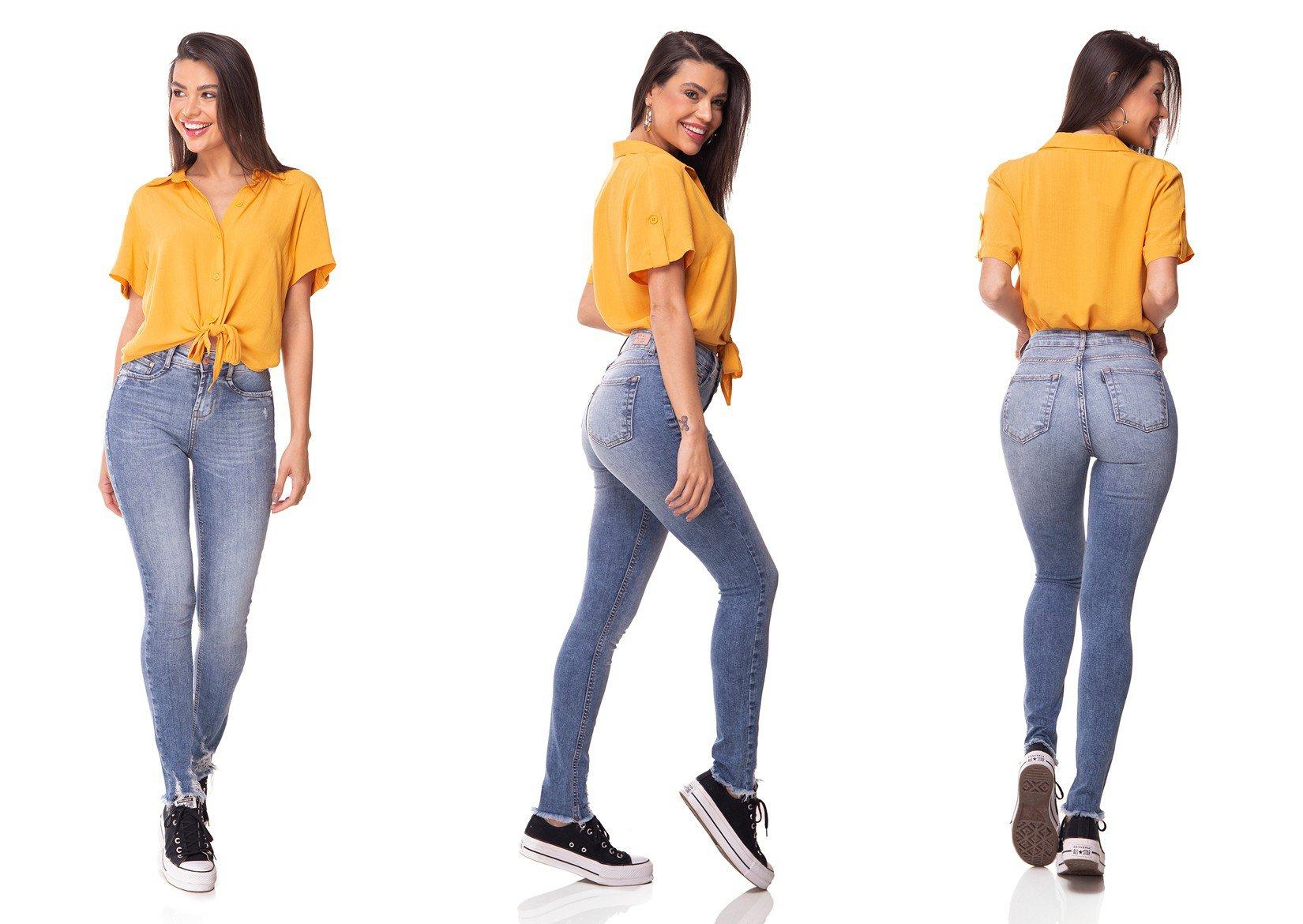 dz3057 calca jeans skinny media cigarrete com bigodes denim zero tripla