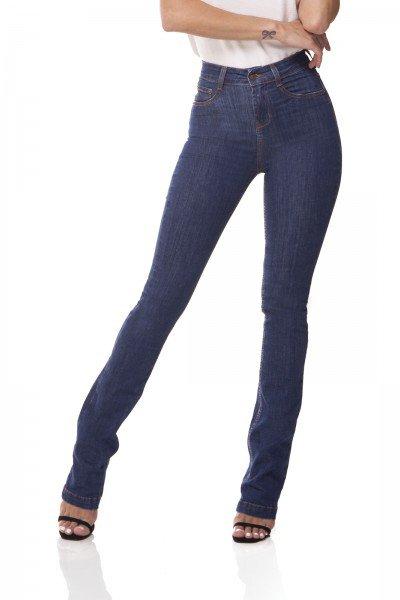 dz3069 b calca jeans boot cut media jeans escuro denim zero frente 02 prox