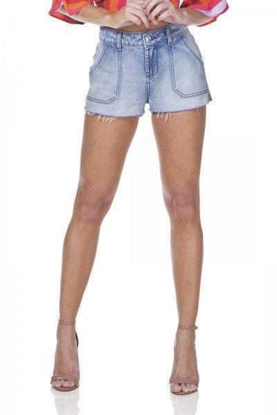 dz6306 shorts feminino young com bolso sobreposto denim zero frente 02 prox