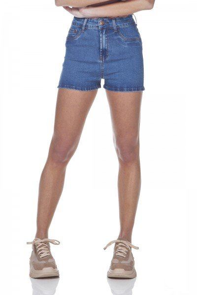 dz6314 shorts jeans pin up denim zero frente prox