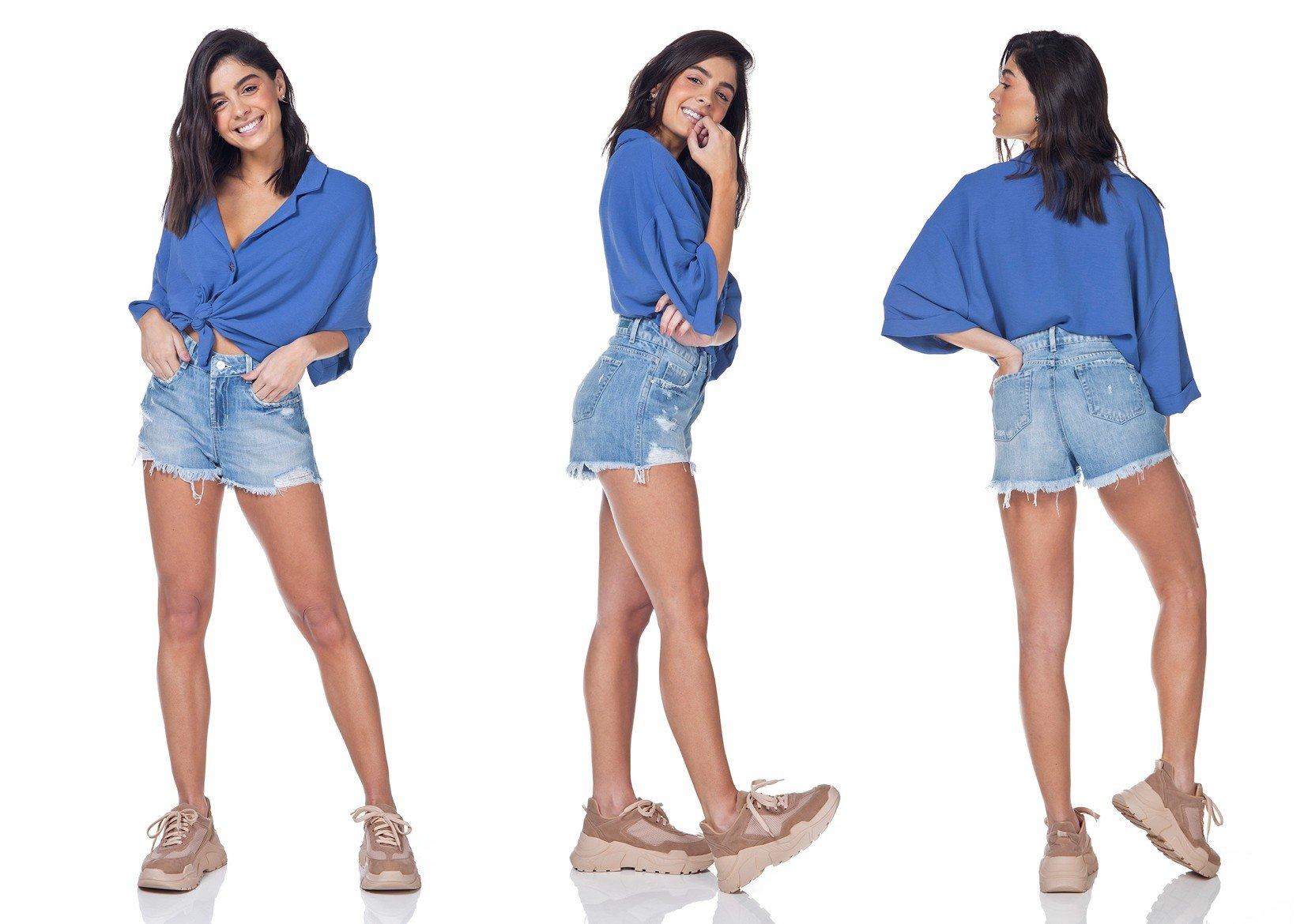 dz6321 shorts jeans young denim zero tripla
