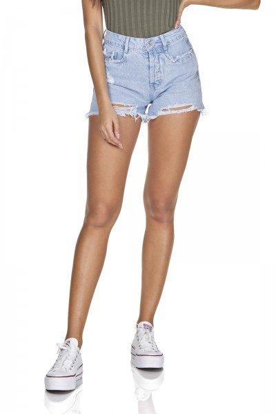 dz6334 shorts jeans mom barra destroyed denim zero frente pox
