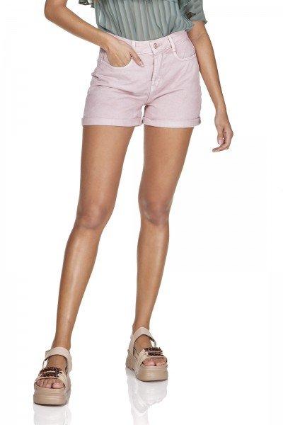 dz6362 shorts jeans mom barra dobrada old roset denim zero frente prox