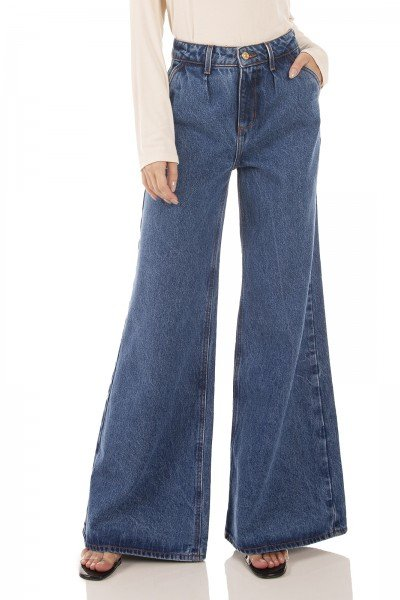 dz3411 alg calca jeans feminina pantalona denim zero frente prox