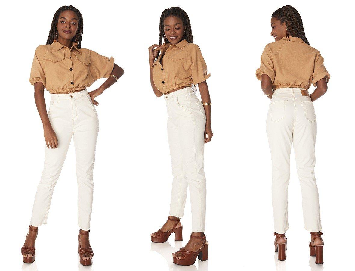 dz3878 com calca jeans feminina mom fit off white denim zero tripla