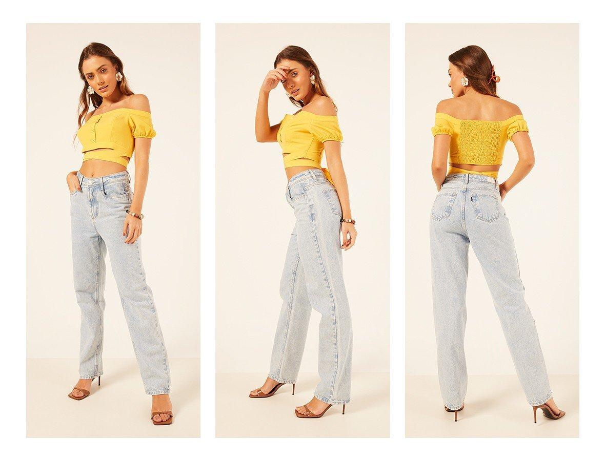 dz3928 alg calca jeans feminina dad pants tradicional denim zero trio